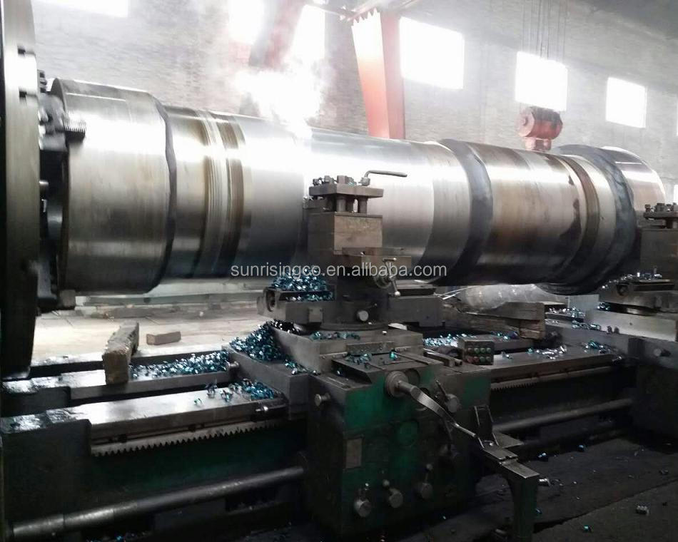 precision machined steel forging parts as per drawing