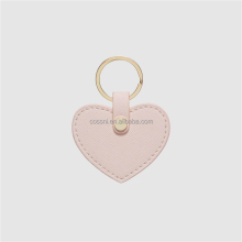 100% genuine leather Heart Keyring