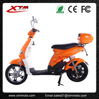 china 350w electric scooter with pedals for sale