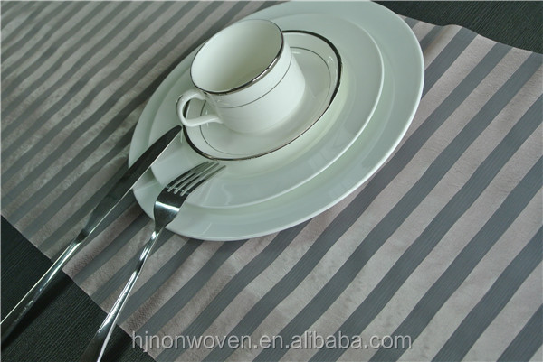New arrival! Stripe organza table runner