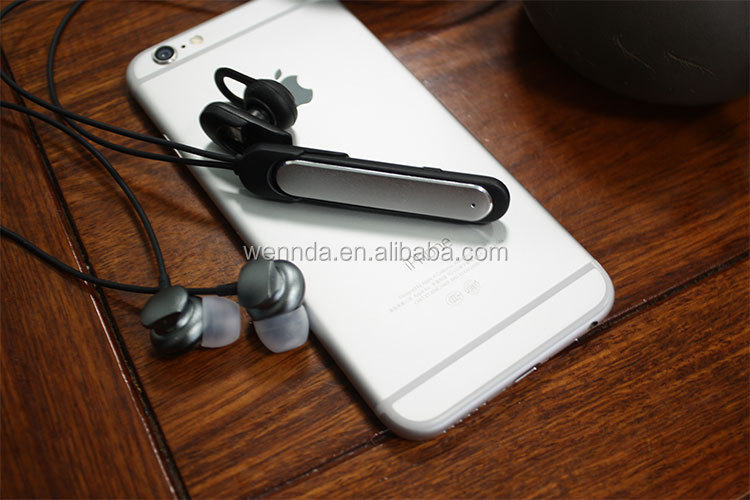 2 in 1 Business Bluetooth Sport Bluetooth Earphone Headphone Bluetooth (Wennda Y100)