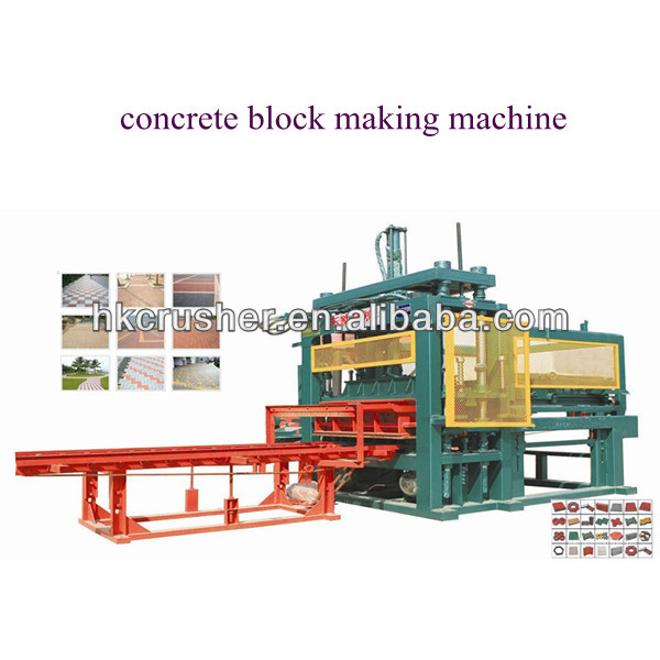 road paver interlocking cement block machine