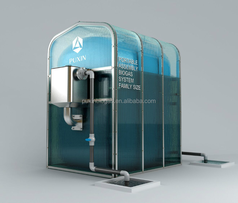 Chinese Portable Biogas Plant For Recycled Machinery Food Waste Food ...