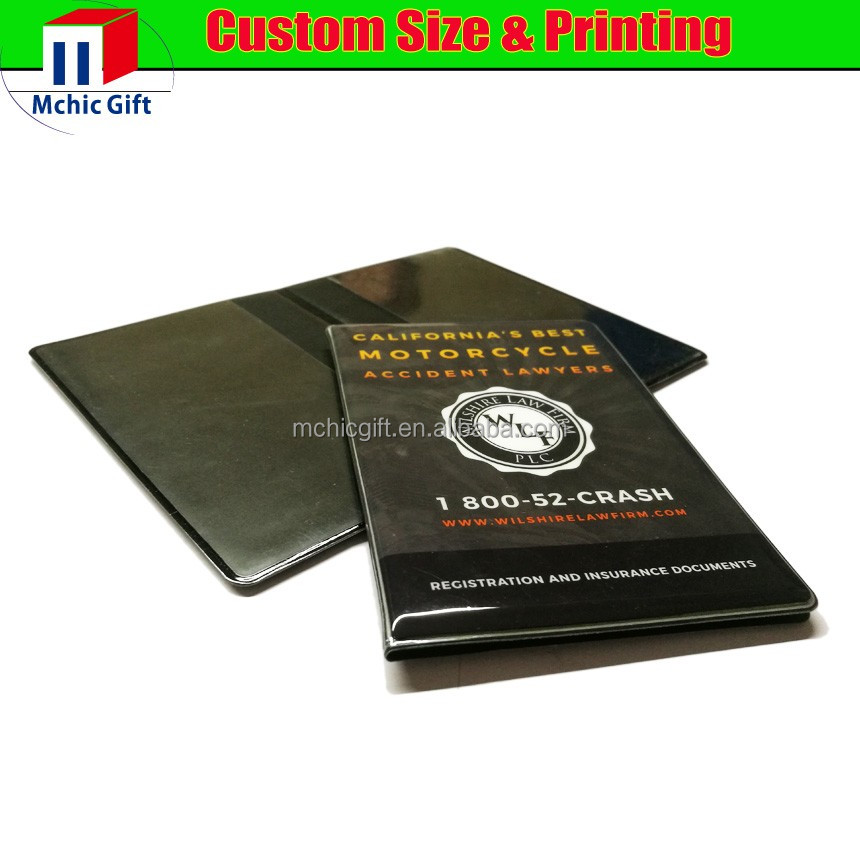 Auto Car Truck Registration And Insurance Case Document Holder Wallet Folder