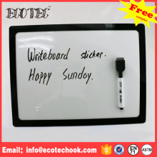 writing board Plastic frame eraser magnetic cork white board