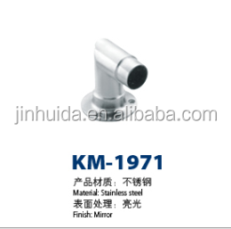 exterior handrails railing fitting adjustable round tube connector KM-1971
