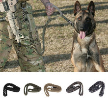 Waterproof Quick Release Tactical collars Duty Adjustable Dog Leash Military Dog Tactical Leads belt US Army Tactical Dog Leash