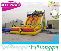 Newest Inflatable Dinosaur Theme Bouncy Castle Inflatable Slide For Kids And Adult Family Playground