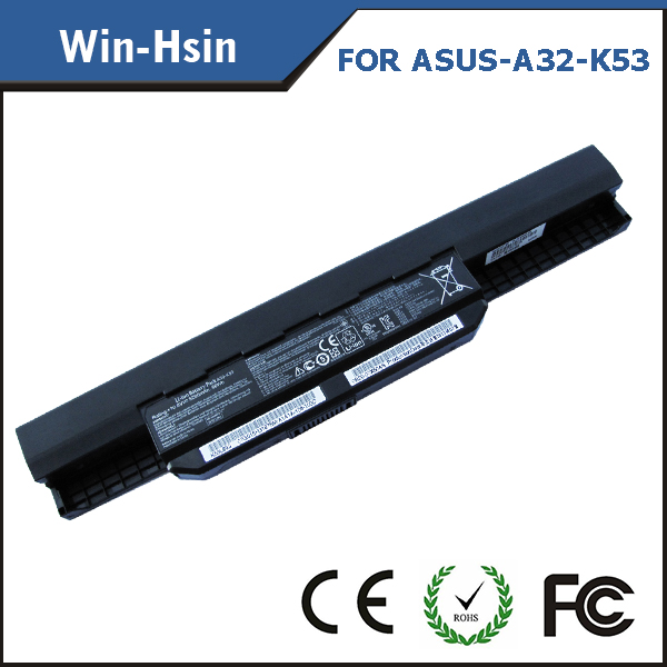 Newest laptop 5200 battery for asus k53sv k53e k53f k53u k53s k53sv a43b a43by a43e a32-k53 a41-k53