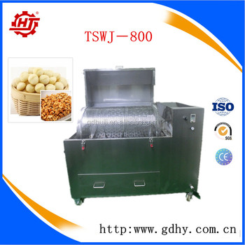 TSWJ-800 304 stainless steel drum sieving machine revolving nuts sieving machine