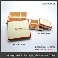 Sales Promotion High Quality Cover Small Wooden Drawer Storage Box