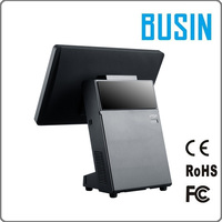 BUSIN brand 12.1 inch touch screen cheap hardware retail pos terminal machine with RFID card reader