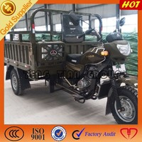 200cc heavy carrying three wheel cargo tricycle/motorized Chinese cargo motorcycle
