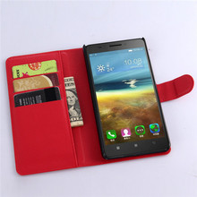 Hot selling leather case for Lenovo A7600 Leather Mobile phone flip cover case for Lenovo A7600