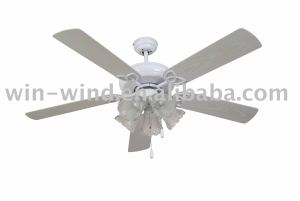 "52"" 5 blade 3 light Ceiling Fan"