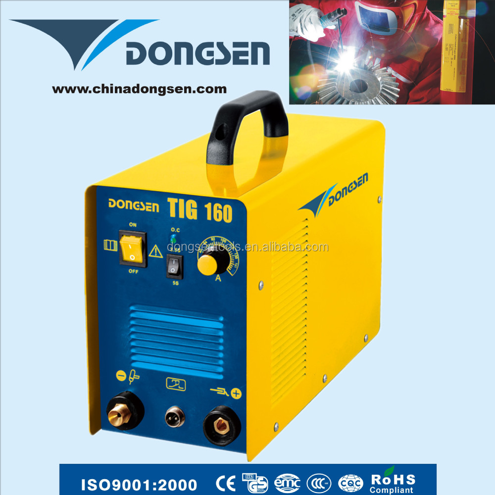 2015 High quality inverter AC/DC welder TIG-160 single phase tig welding machine