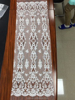 2017 Istanbul popular style stock water soluble lace