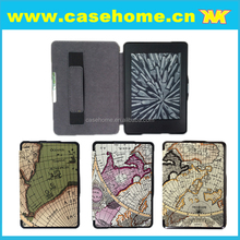 PU Leather holding belt Case for Amazon Kindle Paperwhite in stock