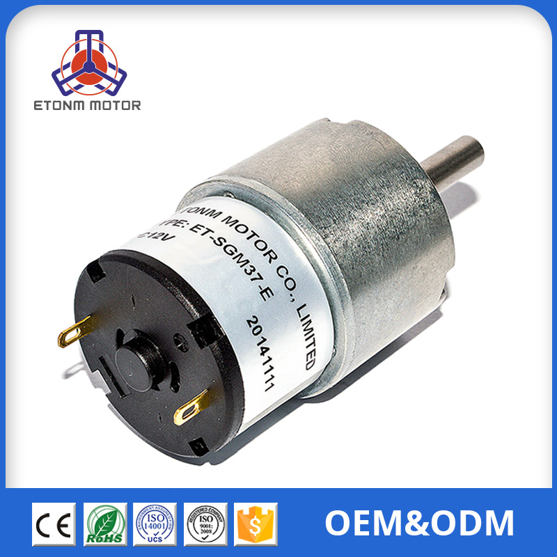 12v electric window lift 37mm dc motor