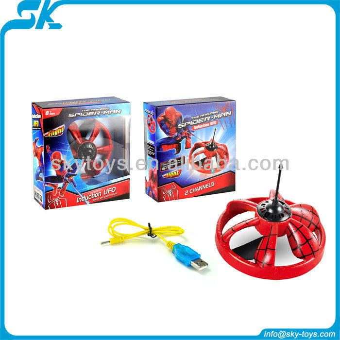 !Hot and New Induction UFO Infrared mini UFO with .drone flash light rc ufo flying saucer spider man toys
