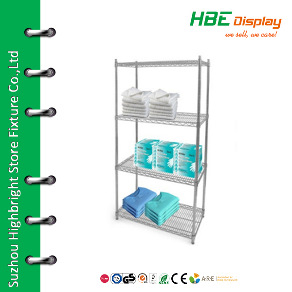 Wire metal display rack medicine display shelf