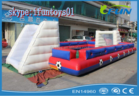 inflatable foosball field / inflatable foosball football field / inflatable human foosball