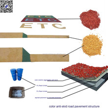 adhesive for color road paving