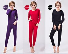 fashion Lady thermal underwear sets lady's thermal underwear sets