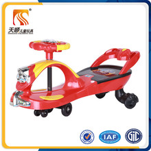 CE certificate children driving car children wiggle car with flashing light