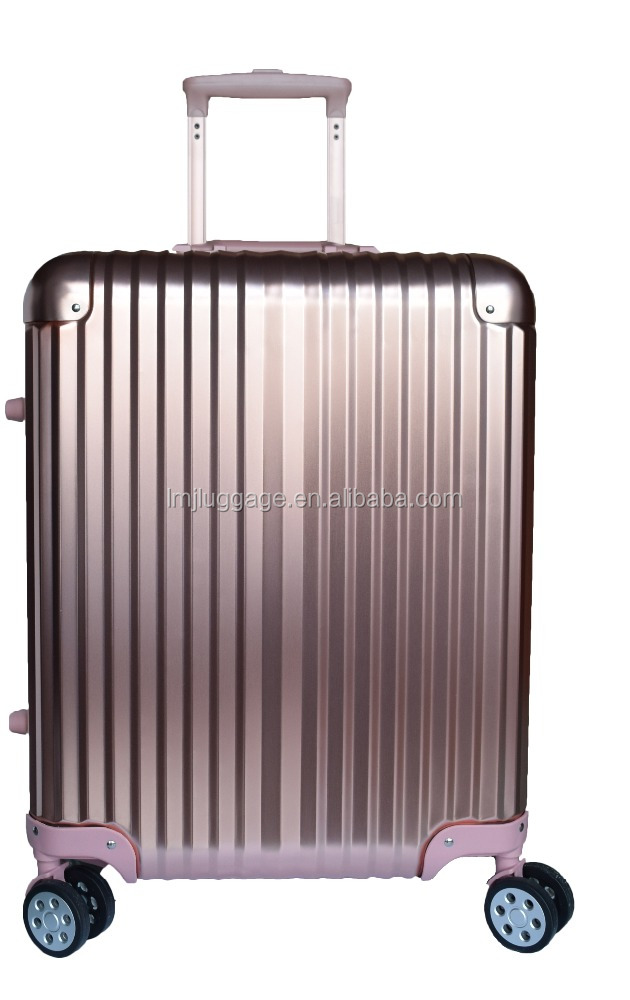 Whosale factory aluminium trolley spinner wheels travel luggage/italian luggage/wheels for suitcases