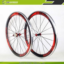 700C 50mm clincher carbon alloy wheels with 23mm width for cyclocross bike