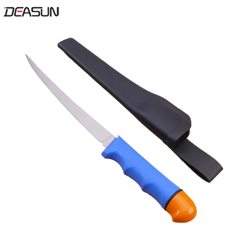 Floating fish fillet knife with Plastic handle