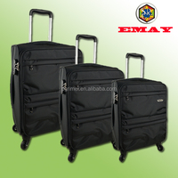 New Designed High Grade Nylon 4 Wheels Travel Trolley Case