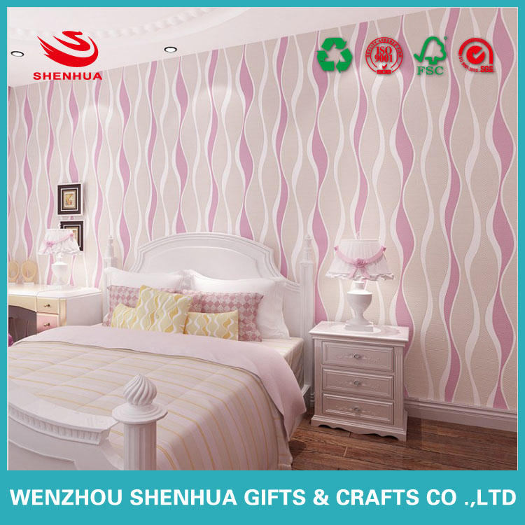 High Quality Beautiful Wall Paper Home Decoration Paper