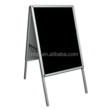 aluminum folding pavement board b3 double side stand