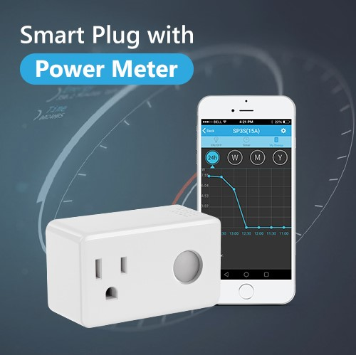 BroadLink SP3S smart home system energy saving 3 pin wifi electric plug