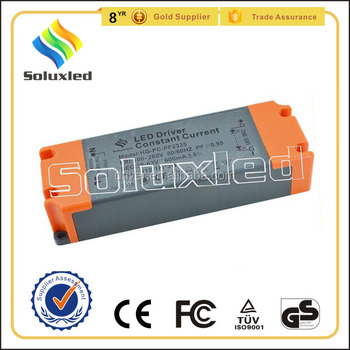 26W Constant Current LED Driver 300mA High PFC Non-stroboscopic With PC Cover For Indoor Lighting
