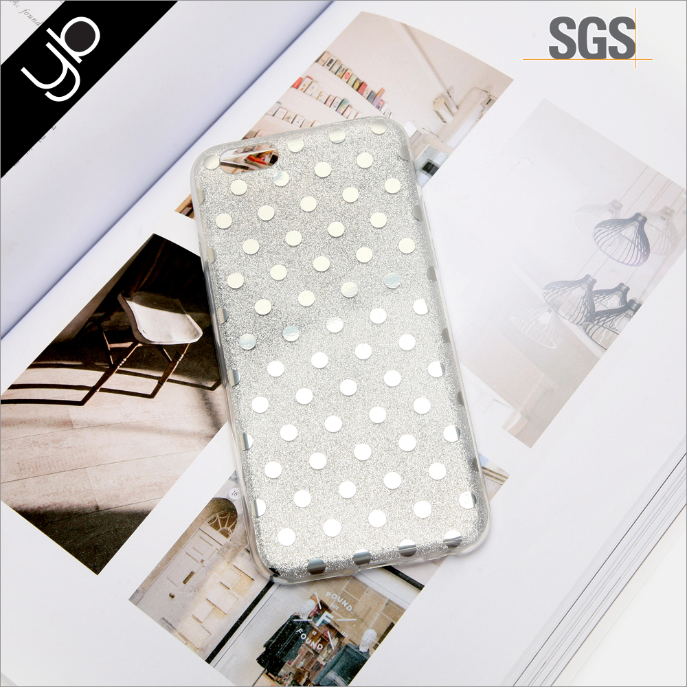 Wholesale dot print phone mobile cell phone case for mobile phone