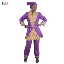 H & D 2018 New Style Cheap Wholesale Fashionable Dresses Designs Fat Ladies African Attire