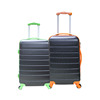 abs printed hard shell trolley case luggage bags for distributors