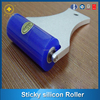 Manual sticky cleaning silicon roller/sticky buddy lint roller