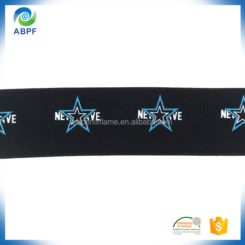 Sew on elastic tape silicone / latex gripper band for garments