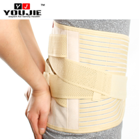 Hot sale magnetic and heating lumbar support wrap with pad