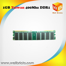Best selling products original chips ram memory PC3200 400mhz ddr1 1gb desktop