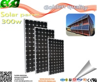 solar panels mono 300w for industrial use