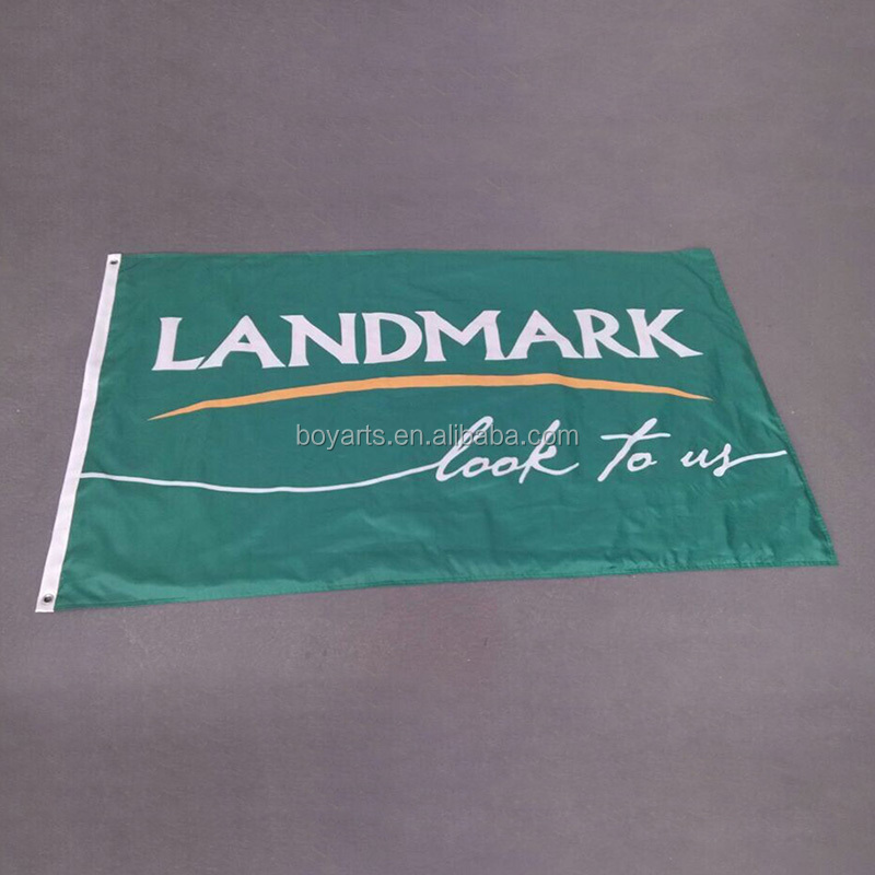 Custom polyester flag