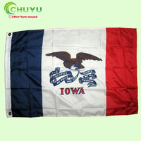 Promotion digital pritning flags, Outdoor Polyester Official National Safety World Flag