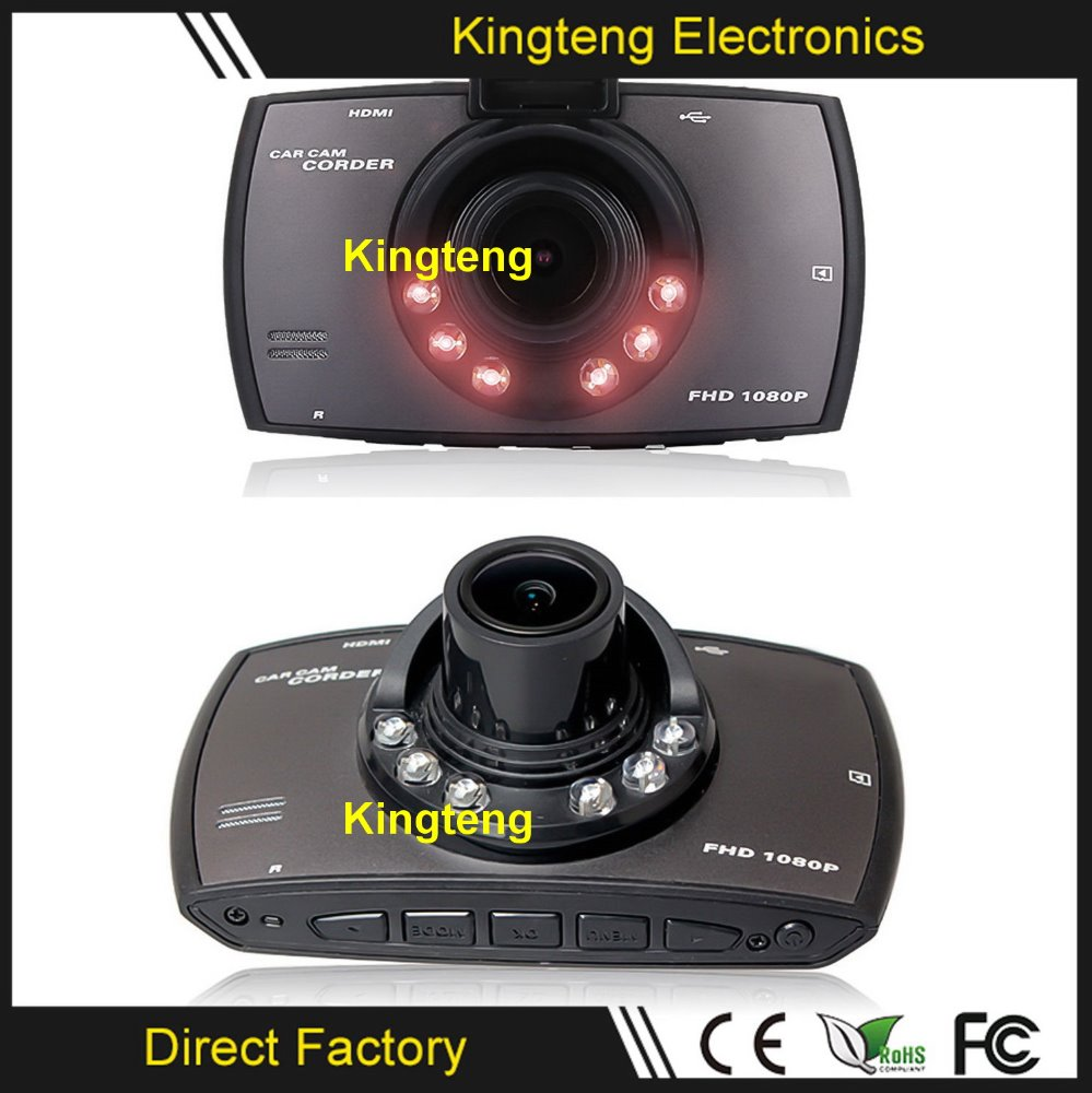 "KT-214D HD 2.7"" Inch Auto Car Dvr 120 Wide Angle 1080P Dash Car Camera Recorder With IR Night Vision Car Dvrs"