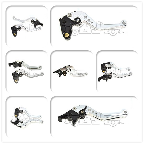 BJ-LS-002-BK-F-33/Y-688H adjustable CNC short racing bike brake lever for Honda CBR1000RR FIREBLADE SP 2008-2016