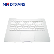 "NEW White Top Case with US Keyboard Trackpad for MacBook 13"" A1181"